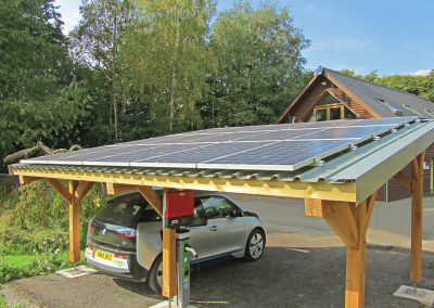 Home Solar Carport & EV Charger.