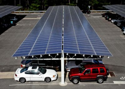 Solar Car Parking -Carport Commercial.