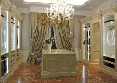 Classical Ornate Designed Dressing Area.