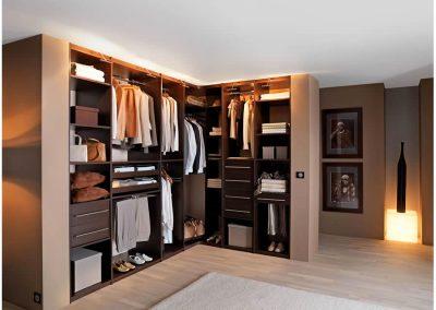 Corner Wardrobe Dressing.