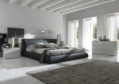 Current Designer Bedroom In Grey & White.