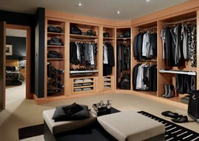 His & Her Dressing Storage.