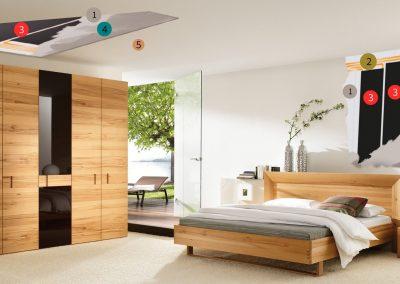 Installation Materials Bedroom.