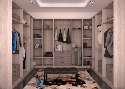 Open Dressing Area.