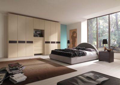 Spacious Bedroom With Blonde Oak.