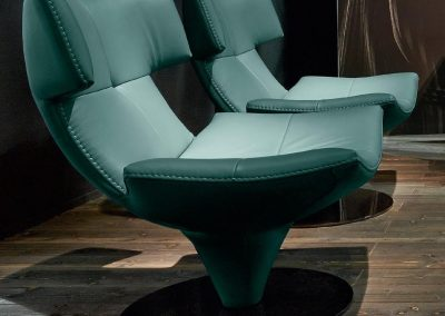 G Swivel Chair Duet In Peppermint.