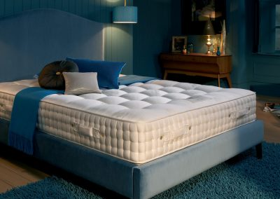 Musk Blue Bed.