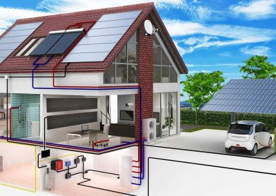 Solar & Energy Storage Heating Package For Independence.