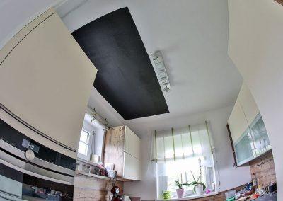 Kitchen Heating Paint Installation.