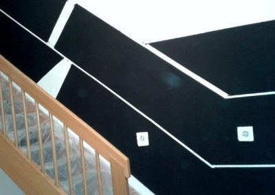 Staircase Heat Paint Design.