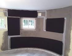 Installation Into Corner, recesses & Round Building Design.