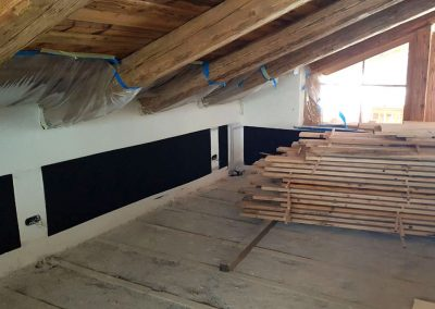 Under Ceiling Heating Attic & Loft.