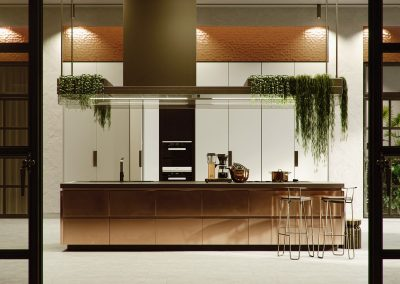 Copper Accentuated Kitchen Project.