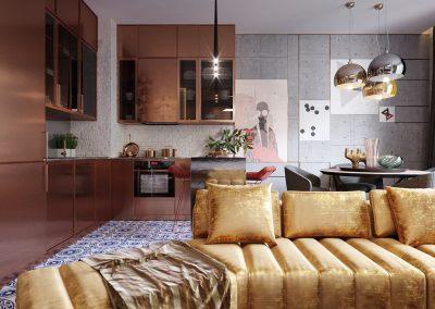 Copper Kitchen & Interior Project.